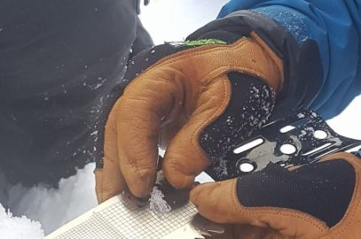 Sneprofil og typer på Hemsedalsturen